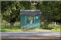 NT1736 : Bus shelter, Stobo by Jim Barton