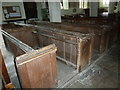 SP8020 : St John the Evangelist, Whitchurch: pews by Basher Eyre