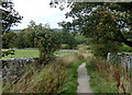 SK2170 : Path north towards the Monsal Trail by Andrew Hill