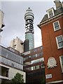 TQ2981 : Post Office tower ogled by Derek Harper