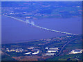 ST5483 : New Severn Bridge from the air by Thomas Nugent