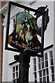 SU4997 : Inn sign in Abingdon by Philip Halling