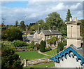 SK2469 : Edensor village scene by Andrew Hill