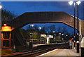 TQ9120 : Footbridge, Rye Station by N Chadwick