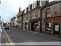 NJ5239 : Shops on Gordon Street, Huntly by Peter Barr