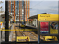 SJ8097 : Media CityUK Metrolink Station by David Dixon