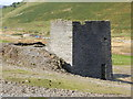 SN7781 : Remains of Crusher House, Dyffryn Castell Mine by Chris Andrews