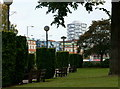 TQ3265 : The Queen's Gardens, Croydon by Peter Trimming