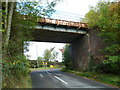 SP7728 : Disused Railway Bridge by Mr Biz