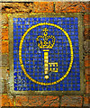TQ2478 : Post Office Savings Bank logo in mosaic by Julian Osley
