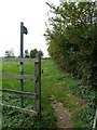 SP7624 : Public Footpath - Hogshaw Road by Mr Biz