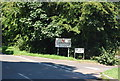 TQ5056 : Entering Chipstead, Chipstead Lane by Nigel Chadwick