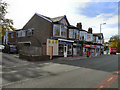 SJ8488 : Gatley Road Shops by David Dixon