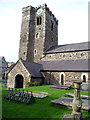 SH7877 : South side of the Church of St Mary and All Saints, Conwy by Phil Champion