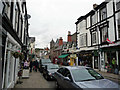 SH7877 : Shops on Castle Street, Conwy by Phil Champion