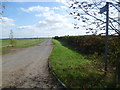 TL3666 : Looking along Tipplers' Road by Marathon