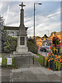 SJ8491 : Didsbury War Memorial by David Dixon