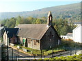 SO1707 : Flats in former church, Victoria, Ebbw Vale by John Grayson