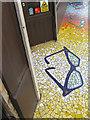 TQ3104 : 32 Gardner Street Mosaic by Simon Carey