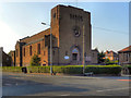SJ8888 : Church of St Ambrose, Adswood by David Dixon
