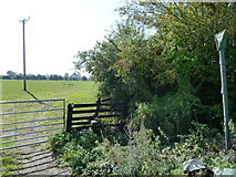 SP9420 : Public Footpath - Slapton Lane by Mr Biz