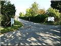 SP9121 : Entrance to Rowden Farm by Mr Biz
