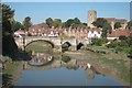 TQ7258 : Aylesford Bridge by Oast House Archive