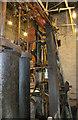 TL8308 : Beeleigh Mill, beam engine by Chris Allen