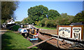 TQ0586 : Boats Below Denham Lock by Des Blenkinsopp