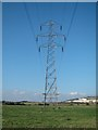 TQ4207 : Pylon on The Brooks by Oast House Archive