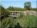 SP9823 : Public Footpath Bridge by Mr Biz
