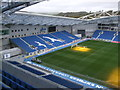 TQ3408 : North Stand - Amex Stadium by Paul Gillett
