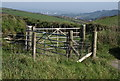 SX4051 : Gates near Tregonhawke by Derek Harper