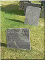 SK6733 : Early 18th century gravestones, Owthorpe by Alan Murray-Rust