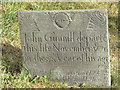 SK6733 : Early 18th century gravestone, Owthorpe by Alan Murray-Rust