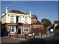 TQ3271 : The Two Towers, Public House, Gipsy Hill by David Anstiss