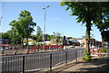 SP0583 : Roadworks, Bristol Rd by Nigel Chadwick
