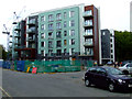TQ2079 : New flats on Palmerston Road by Thomas Nugent