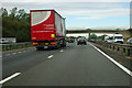 TL3068 : A14 approaching junction 26 by Robin Webster