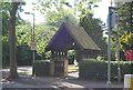SP0582 : Lych gate, St Stephen's Church by N Chadwick