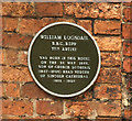Photo of William Logsdail green plaque