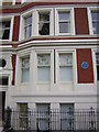 TQ2981 : Ridgmount Gardens, WC1: blue plaque to Bob Marley by Christopher Hilton