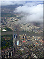 TQ2876 : Battersea and the Thames from the air by Thomas Nugent