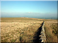 SD5864 : The wall between Claughton and Whit Moors by Karl and Ali