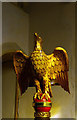 TL3627 : Eagle lectern, St Mary's Church, Westmill, Hertfordshire by Julian Osley