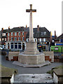 TQ4274 : St John the Baptist, Eltham: war memorial by Stephen Craven