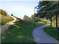 SE5901 : Footpath, Doncaster Lakeside by David Dixon