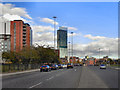 SJ8297 : Chester Road (A56) by David Dixon