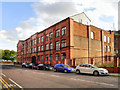 SJ8296 : Former National Works Building by David Dixon