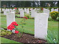 SJ9815 : Commonwealth War Graves, Cannock Chase by Colin Smith